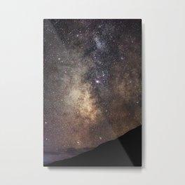 Abstract Milky Way Metal Print