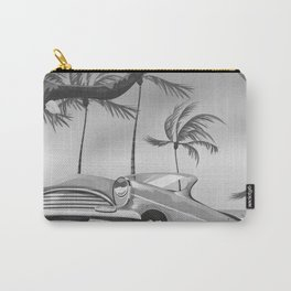 Destin Florida USA Black and white Carry-All Pouch
