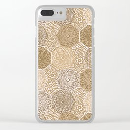 Sandalwood Souk Clear iPhone Case