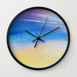 Soft as a Feather Wall Clock
