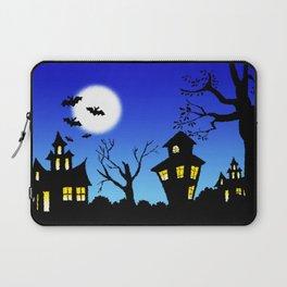 Blue Sky Of Nightmare Laptop Sleeve