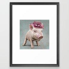 Miss Piggy Framed Art Print