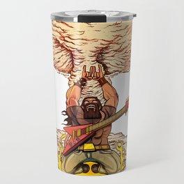 Heavy Metal Power Slide. Travel Mug