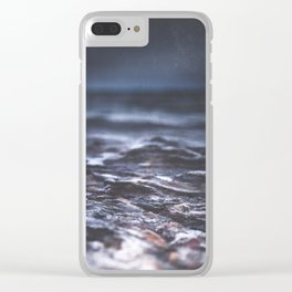 Darkness never wins Clear iPhone Case