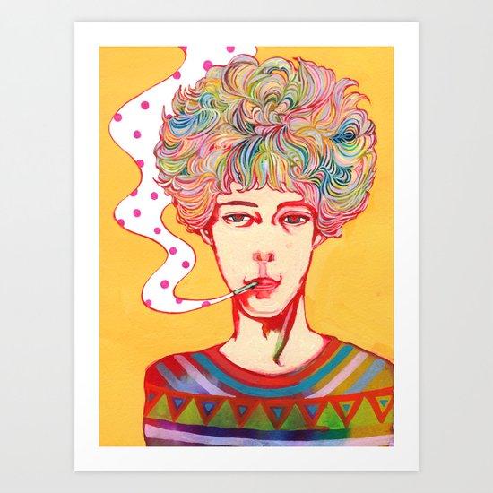 Oh No Ono Art Print