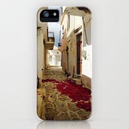 Streets of Greece iPhone Case