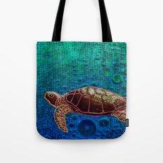 Turtle Patience Tote Bag
