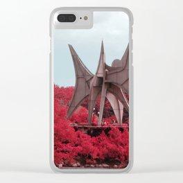 Alexander Calder Clear iPhone Case