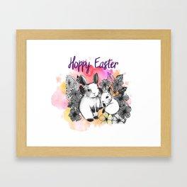 Hoppy Easter Framed Art Print