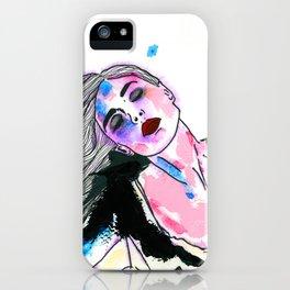 Sieben Mädchen. iPhone Case
