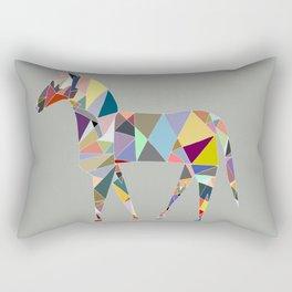 Eclectic Horse Rectangular Pillow