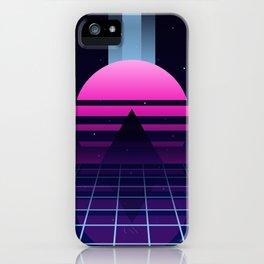 Neon Twilight iPhone Case