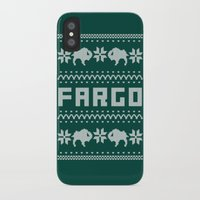 fargo iPhone & iPod Cases featuring Fargo Sweater by Mandrie