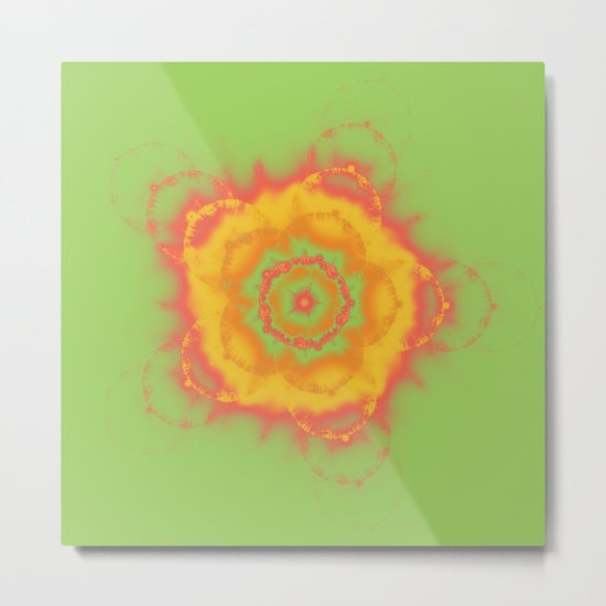 Summer Citrus Metal Print