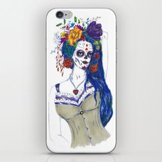 Scull Candy Lady iPhone & iPod Skin
