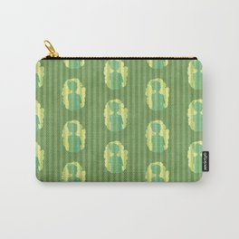 Penelope at the Window - Grass Green Carry-All Pouch