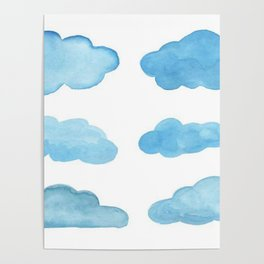 waterclouds Poster