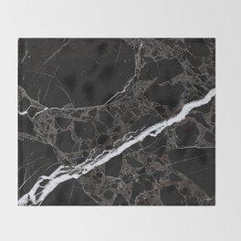 NETWORKED BLACK & WHITE Throw Blanket