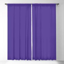Flamboyant Rose ~ Dark Violet Blackout Curtain