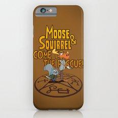 Moose & Squirrel Come to the Rescue! iPhone 6s Slim Case