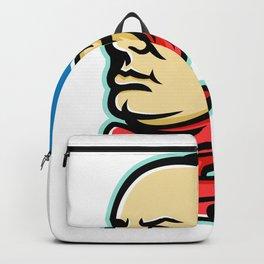 Benjamin Franklin Mascot Backpack