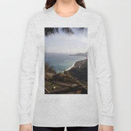 Taormina Bay of Sicily Long Sleeve T-shirt