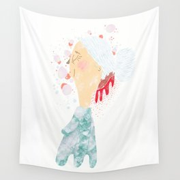 Bleeding Bun Wall Tapestry