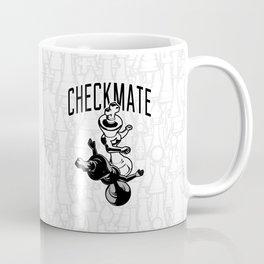 Checkmate Punch Funny Boxing Chess Coffee Mug