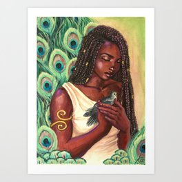 Hera's Compassion Art Print