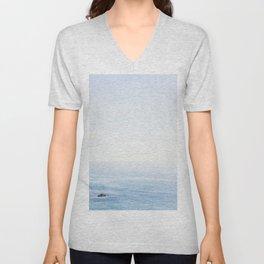 The Sea on a Sunny Day Unisex V-Neck