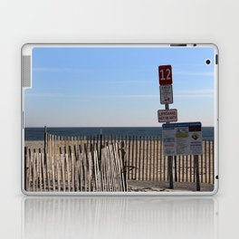 Beach Closed Laptop & iPad Skin