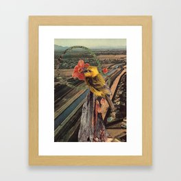 the more you fly Framed Art Print
