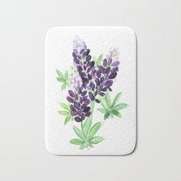 Lupine Wildflowers Bath Mat