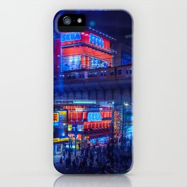 Tokyo Nights / Anime Town / Liam Wong iPhone Case