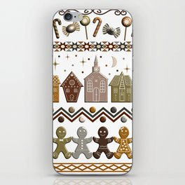Gingerbread Row Dance in Snow White iPhone Skin