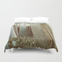 books Duvet Covers featuring Books by Jeremiah Locke