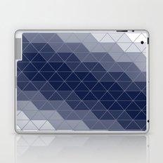 Indigo Navy Blue Triangles Laptop & iPad Skin