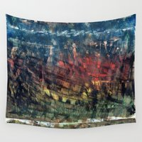 jungle Wall Tapestries featuring jungle by gasponce