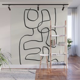 Abstract line art 15 Wall Mural