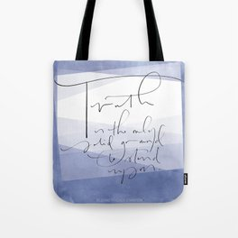 Truth - Elizabeth Cady Stanton Tote Bag