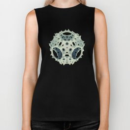 Icosahedron Bloom Biker Tank