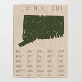 Connecticut Parks Poster