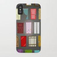 doors iPhone & iPod Cases featuring Doors by Derek Temple