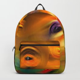 Heaven's Eyes - Abstract Art By Sharon Cummings Backpack