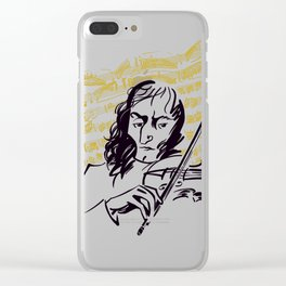 Paganini (3) Clear iPhone Case