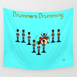 12 Days Of Christmas Nutcracker Theme: Day 9 Wall Tapestry