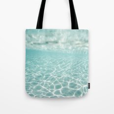 Under Water Light Tote Bag