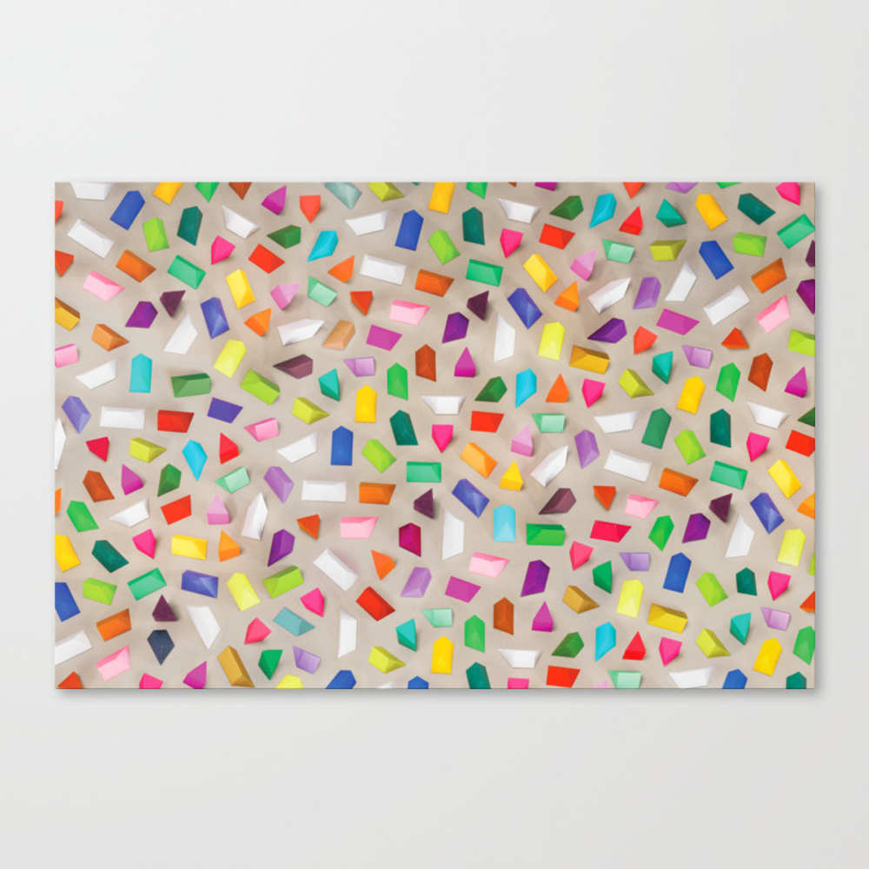 Prisms Canvas Print by Ollanski CNV8601612