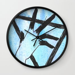 Sinful Touch Wall Clock