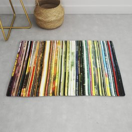 a rainbow of records! Rug
